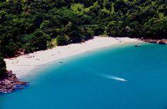 Praia do Bonete, Ilhabela, SP, Brasil.