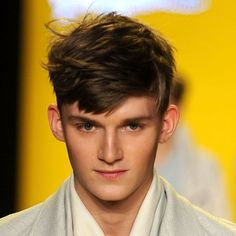 Pictures of Men's Haircuts with Short Sides and A Long Top: Disconnected Sides