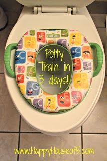 Happy House of 5: potty training