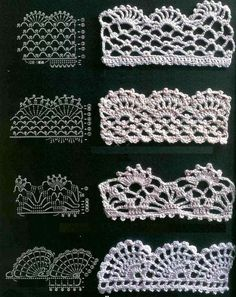 nice crochet edgings