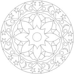 Adult Coloring Pages: Mandala for vision impaired 3 Online Coloring Pages, Disney Coloring Pages, Christmas Coloring Pages, Free Printable Coloring Pages, Coloring Book Pages, Coloring Sheets, Kids Colouring, Geometric Coloring Pages, Mandala Coloring Pages