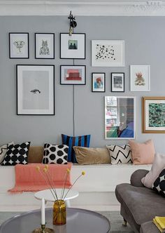 This is one Incredibly charming family apartment with a calm, unpretentious and relaxed atmosphere. Situated in Gothenburg, Sweden. Scandinavian Style, Scandinavian Apartment, Scandinavian Interiors, White Wooden Floor, Family Apartment, Interior And Exterior, Interior Design, Relaxation Room, Vintage Interiors