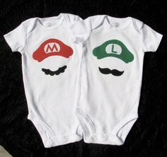 I will probably NEVER have twins... but the first person i know that has twin boys is getting these!