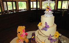 Winnie the Pooh Wedding Cake. So cute!