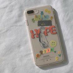 Kpop Phone Cases, Kawaii Phone Case, Girly Phone Cases, Diy Phone Case, Iphone Phone Cases, Phone Covers, Iphone 8, Homemade Phone Cases, Aesthetic Phone Case