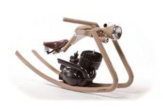 Una moto a dondolo - 100casa