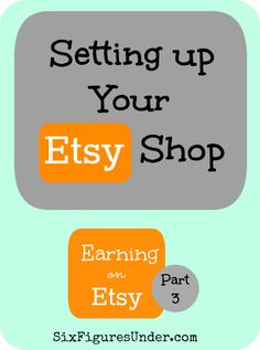 Part 5 of the Earning on Etsy Series: Marketing for your Etsy Shop! I am excited to share with you lots of tips for marketing your creations on Etsy and beyond. Etsy Business, Craft Business, Creative Business, Business Tips, Online Business, Creative Jobs, Business Marketing, Media Marketing, Market Research
