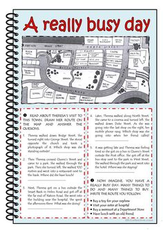 prepositions of movement, place, time; verb + preposition worksheet - Free ESL printable worksheets made by teachers English Reading, English Study, English Class, English Lessons, Learn English, English English, Grammar And Vocabulary, English Vocabulary, English Grammar