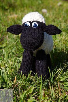 the Shaun knitting pattern