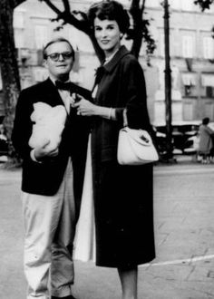 Truman Capote and Babe Paley the main characters in Melanie Benjamin's upcoming book The Swans of Fifth Avenue
