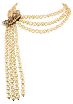 Coppola e Toppo Draping Pearl Necklace