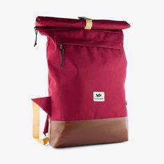 Courier Bag in Burgundy By Freibeutler Fy