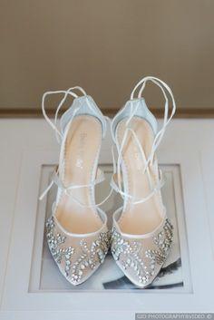 Ariel and Simona's Wedding in Sparta, New Jersey Designer Wedding Shoes, Bridal Wedding Shoes, White Wedding Shoes, Bridal Heels, Wedding Shoes Heels, Wedding Lace, Wedding Attire, Wedding Videos, Crystal Wedding