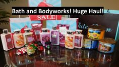 Bath and Bodyworks haul candles, bbw sale!