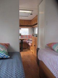 Caravan _ view from bedroom