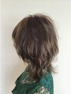 【MISTEROMAgigi 】ウルフカット×イルミナカラー Asian Short Hair, Asian Hair, Medium Hair Styles, Long Hair Styles, Choppy Hair, Shot Hair Styles, Hair 2018, Hair Images, Scene Hair