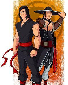 Liu Kang, Kung Jin, Mortal Kombat Art, Mileena, Disney Characters, Fictional Characters, Disney Princess, Drawings, Comic Art