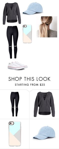 """""""High school football game with bae"""" by beebrilliant ❤ liked on Polyvore featuring Vince, Casetify, Sole Society and Converse"""
