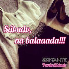 A noitada de sábado pede um look mais elaborado, então separamos alguns looks para caírem na pista sem errar!  Boa balada, meninas!!!  http://www.irritantefeminilidade.com.br/#!sabado-na-balada/cwtj  #Moda #Looks #Balada #Party #Fashion #Vestido #Saia #TopCroped #Calca