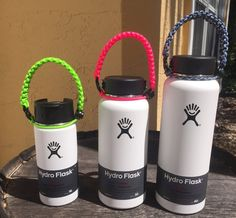 Hydro Flask Handle Wide Mouth Paracord Water Bottle Holder