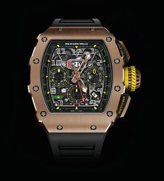 Richard Mille NEW RM 11-03 FULL Rose Gold Automatic Flyback Chronograph (Retail:US$160,000) ~ UNBEATABLE OFFER: HK$1,238,000.         #RM #richardmille #richard_mille #RM1103rg #RM1103rosegold #RM_11_03 #RM11_03 #richardmilleRM1103 #richardmilleRM1103rosegold #richard_mille_RM11_03