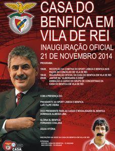 Luís Filipe Vieira inaugura Casa do Benfica em Vila de Rei na sexta-feira