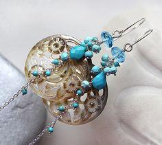 The Alizé earrings ~