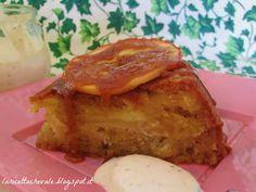 Torta di mele con crema allo yogurt e fichi | La ricetta che Vale