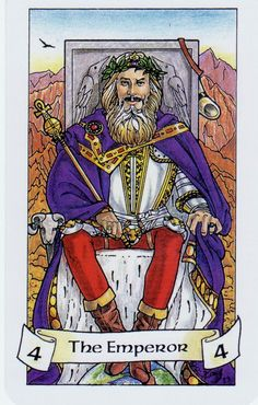 Card of the Day: The Emperor from Robin Wood Tarot ~ Time to get your act together and take charge.  Your actions set the tone and pace of the group now and others are looking to you for guidance.  Lead with your heart and show that your power lies in your benevolence.