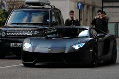 Matt black lambo. Serious.