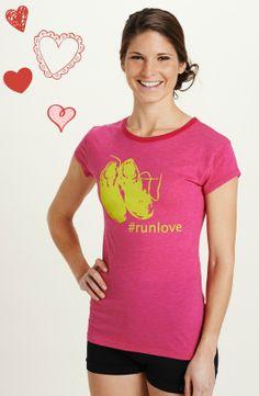 Your running solemate. New #runlove tee! you'er my #runlovah @KD Eustaquio Moon! :)