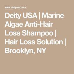 Deity USA | Marine Algae Anti-Hair Loss Shampoo | Hair Loss Solution | Brooklyn, NY