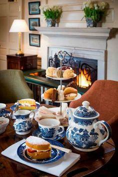 Afternoon tea at the Talbot Hotel Malton, North Yorkshire, Afternoon tea Afternoon Tea Parties, Afternoon Tea Tables, Tea Sandwiches, Tea Service, My Cup Of Tea, Tea Recipes, High Tea, Coffee Time, Tea Cups