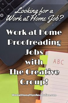 Proofreading opportunities