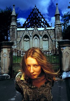 Cate Blanchett by Robin Sellick (1994)