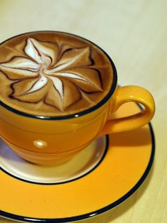 Latte Art: Part Deux by Hoenen, via Flickr