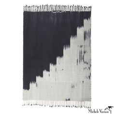 Black and White Cotton Area Rug