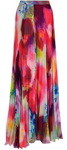 Maxi skirt