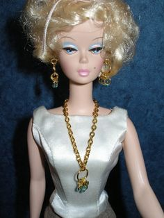 Fashion doll jewelry for Barbie Silkstone by TheDesigningRose, $14.00
