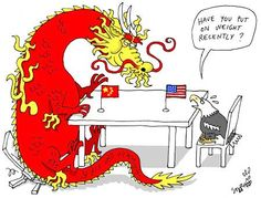 By the end of 2014, China will make up 16.48% of the world's purchasing-power adjusted GDP (or $17.632 trillion), and the US will make up just 16.28% (or $17.416 trillion). So, starting this year, the USA loses the first position FOR THE FIRST TIME since 1872 when they overtook the British #economy.