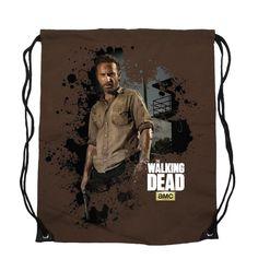 The Walking Dead Rick Grimes Cinch Bag Backpack New Licensed