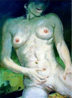 """Nudo erotico"" 60x70, Olio su tela #contemporaryart #dalre #women #naked"