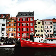 A few of my favourite houses - Nyhavn, Copenhagen. Credit: Niki Brantmark / My Scandinavian Home.