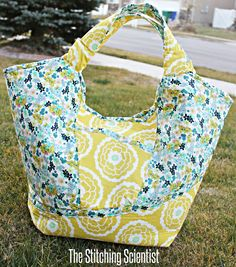 Carnaby Carry All Bag with Free Pattern