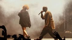 Kanye West Doesn't F Up the FYF Fest, Brings Rihanna Onstage