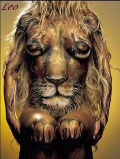 Leo Body Art #body #art