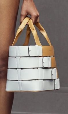 Balenciaga Resort 16: 'belted' handbag.