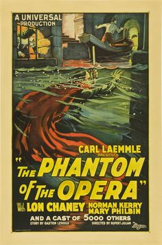 Carl Laemmle's Phantom of the Opera with Lon Chaney