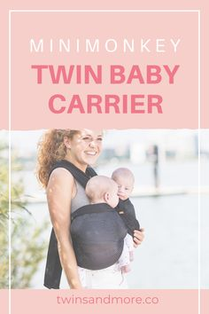 Worldwide shipping within days. For Twins 4 - 24 months. The Minimonkey Twin and tandem carrier is a great alternative to a double ring sling making it ideal for babywearing twins. Twin Mom, Twin Babies, Twin Carrier, Baby Carrying, Expecting Twins, Twin Tips, Raising Twins, Ring Sling, Newborn Twins