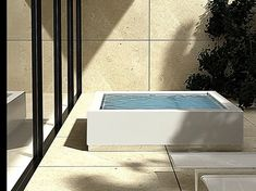 Kos outdoor and wellness collection 2014 Jacuzzi Outdoor, Outdoor Spa, Indoor Outdoor, Mini Piscina, Mini Pool, Small Spa, Small Pools, Kos, Terrazzo